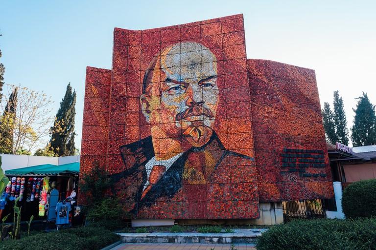 Mosaic Monument of Lenin, Sochi, Russia