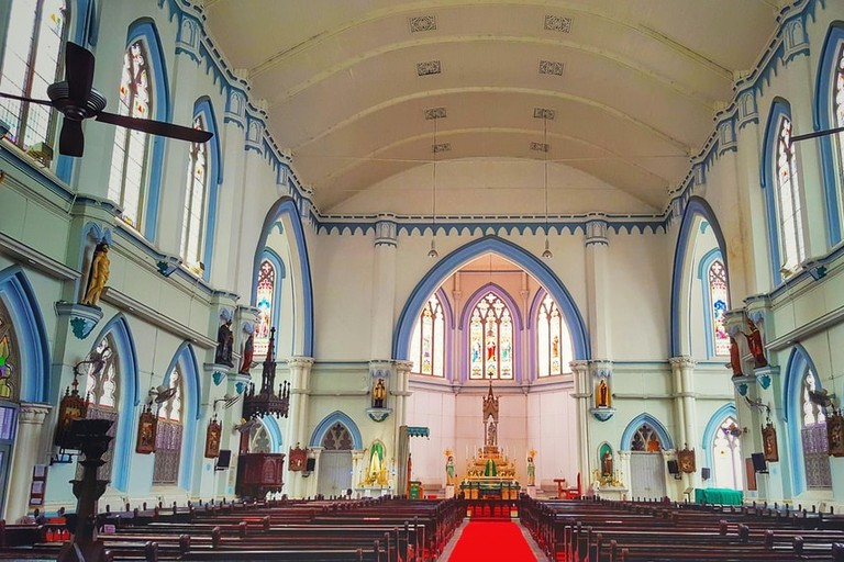 Interior of St.Joseph's Church, Singapore