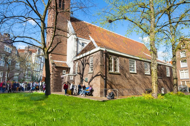 The English Reformed Church at the famous Begijnhof, Amsterdam
