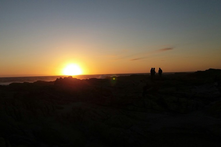 Sunset over Cape St Francis