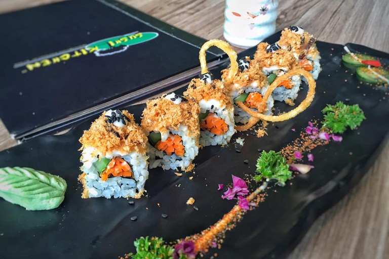 Crispy G-Ken Floss at Sushi Kitchen