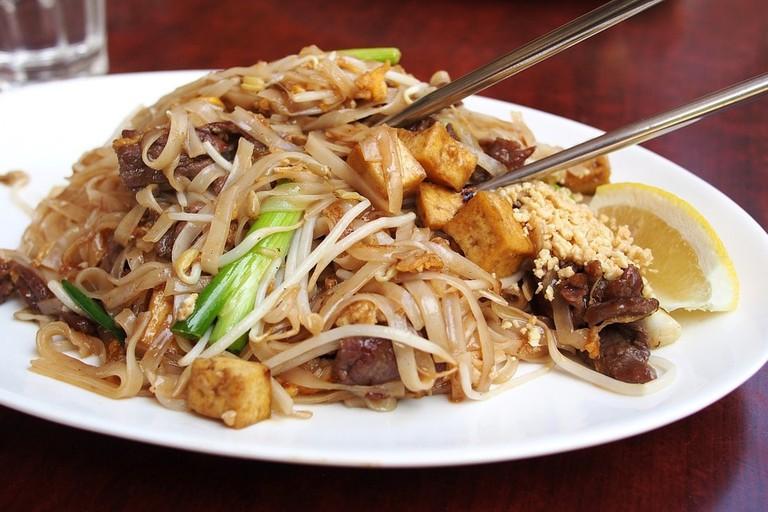 A Thai noodle dish