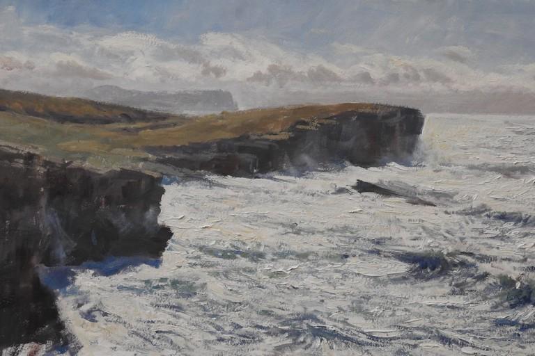 'Yesnaby Seas' By Artist Tim Wootton | Wildscape Gallery