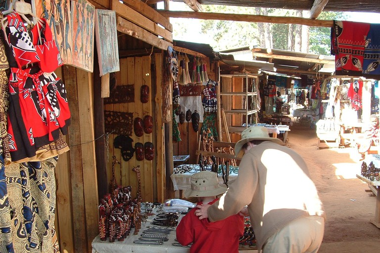 Craft market in Swaziland