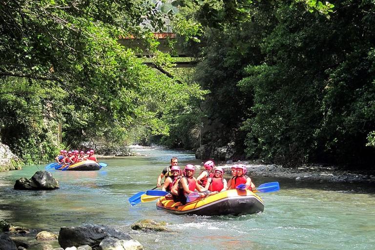 River Rafting in Laos