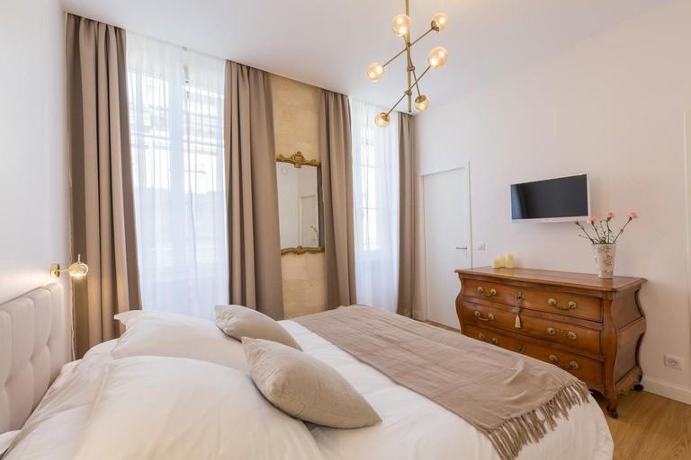 Guest room at La Maison Odeia