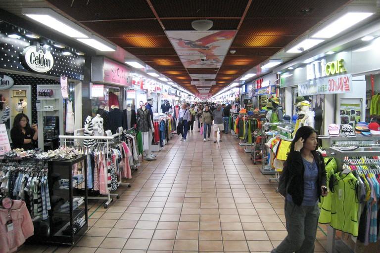 Jeju underground market