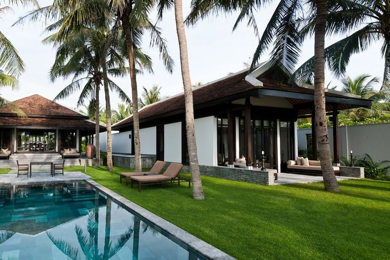 Private swimming pool at the Four Seasons Resort The Nam Hai