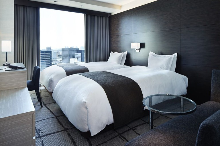 Guest room at Mitsui Garden Hotel Ginza Premier