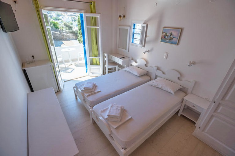 Guestroom at Stelios View