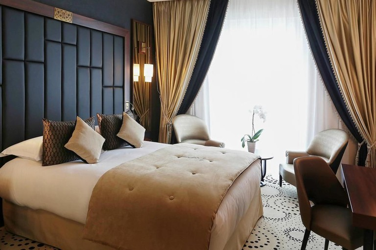 Guestroom at Le Regina Biarritz Hotel and Spa