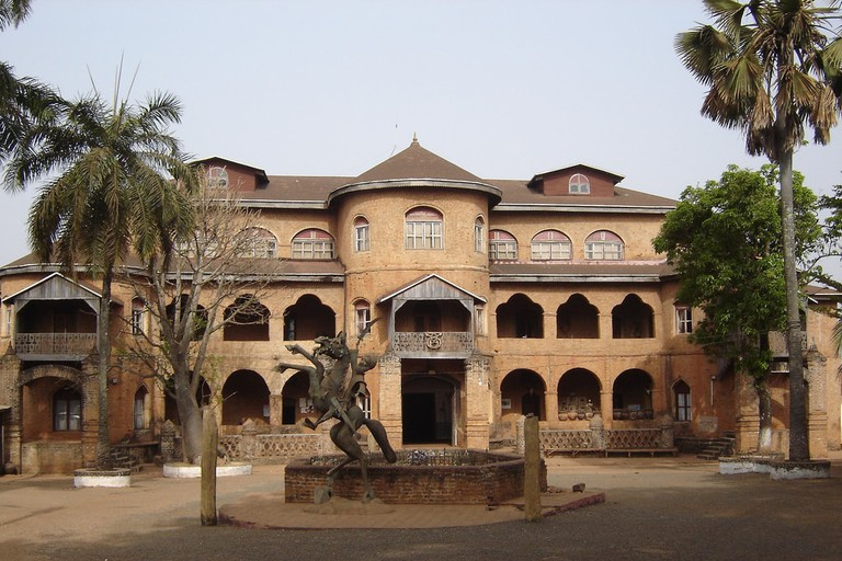 The Bamoun Sultan's palace was completed in 1917