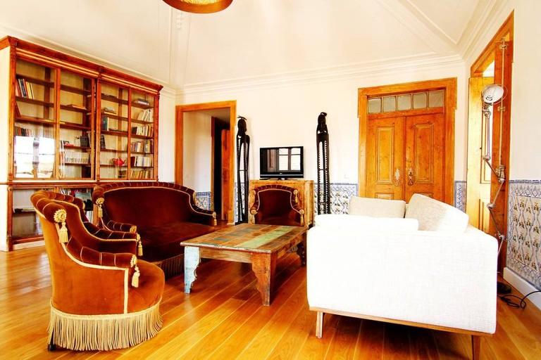 Living room in Alfama Chic 4