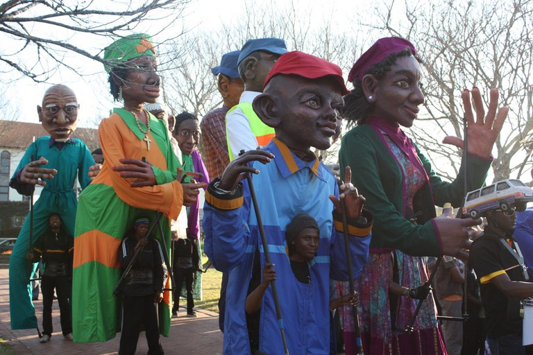 Performers at the Grahamstown National Arts Festival
