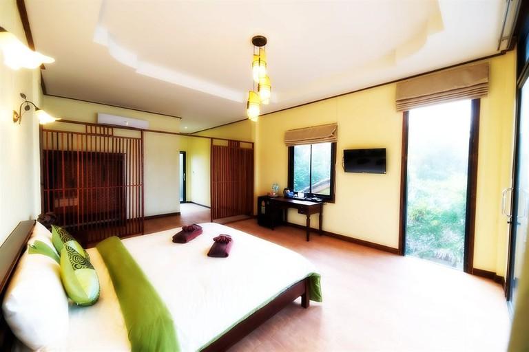 Guest room at Loyfa Natural Resort