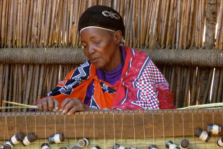 Swazi weaver