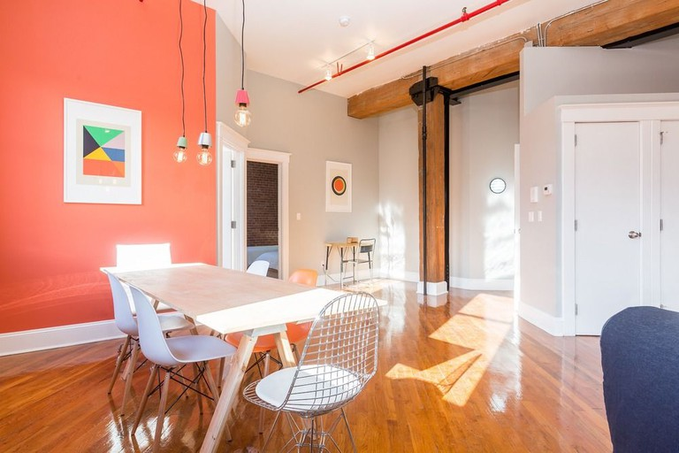 Loft apartment at Habitat 101 Brooklyn
