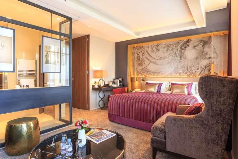 The Grand Hôtel La Cloche is Dijon's only five-star hotel