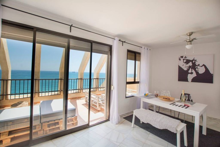 Beach Penthouse in Malaga Centre