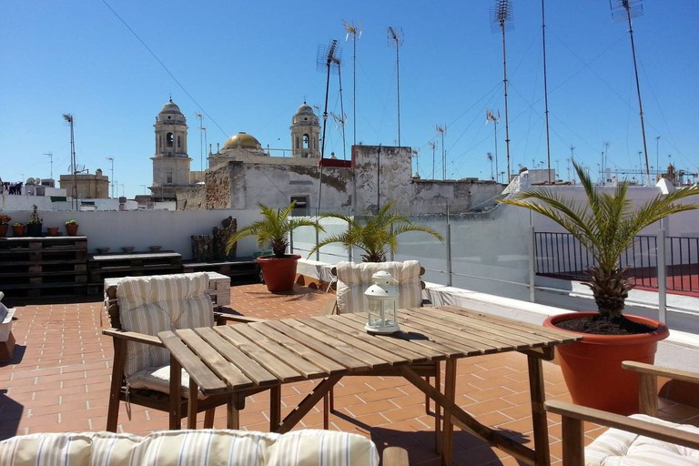 Renovated apartment with terrace, Cadiz