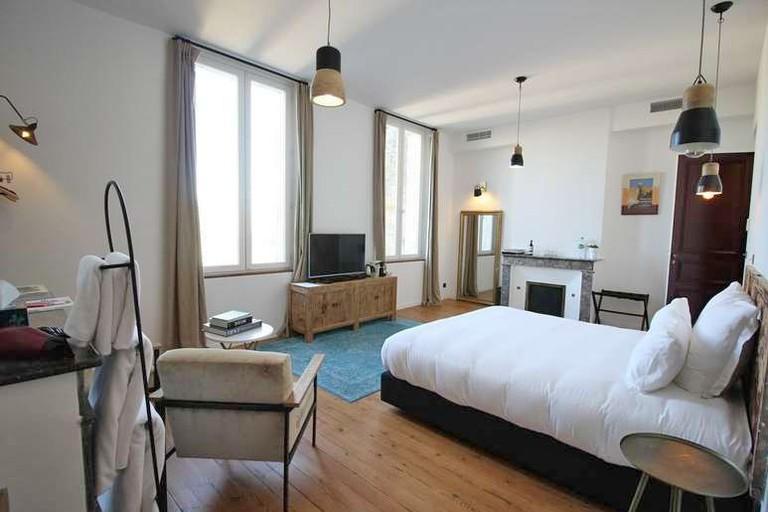 Guest room at Casa Blanca
