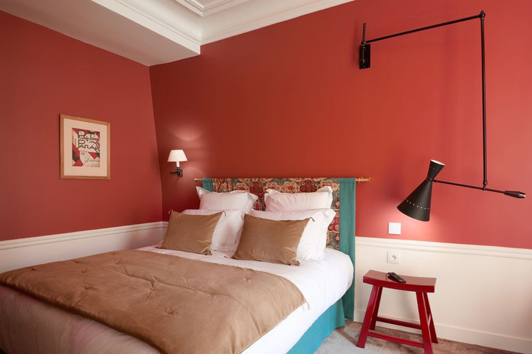Guestroom at Maison Lepic