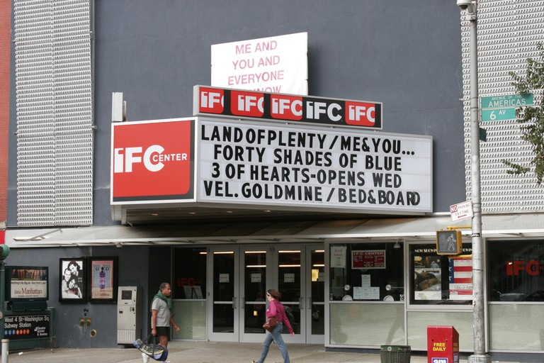 IFC Waverly Theatre, in Greenwich Village, New York, USA.