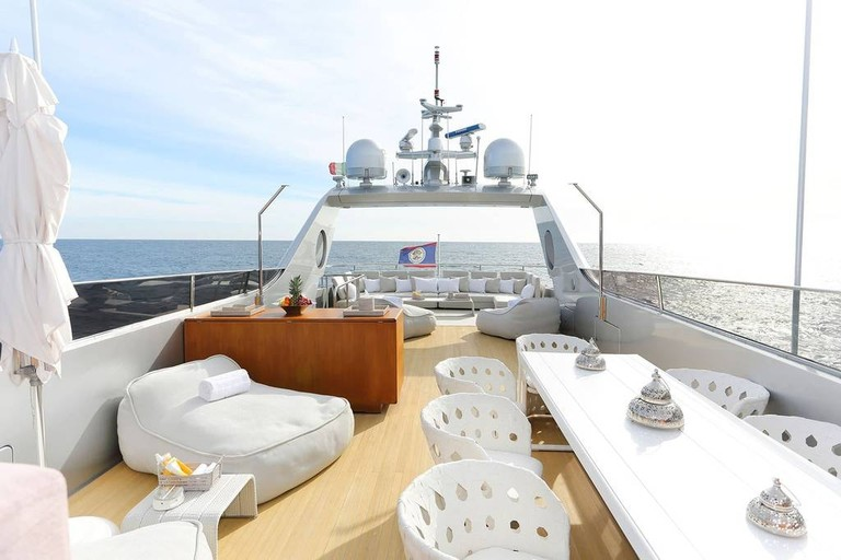 Hire this 35-metre yacht in Cannes | © Airbnb