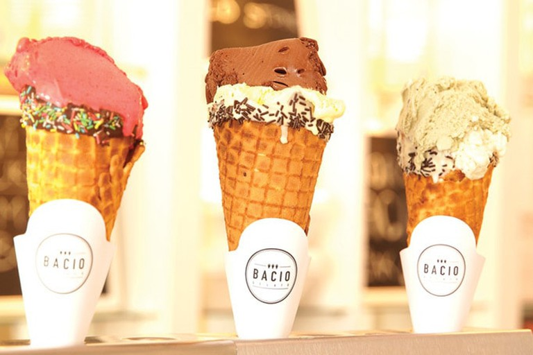 Bacio is a staple of Belgrade's ice cream scene
