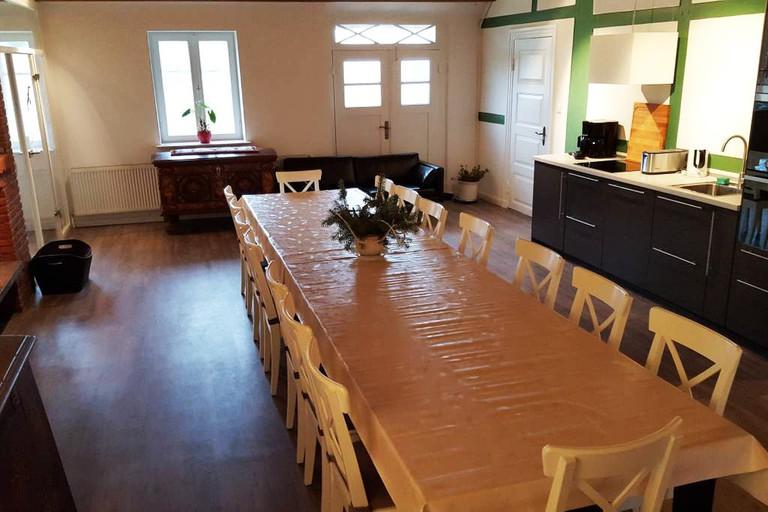 Dining room at Farmstay
