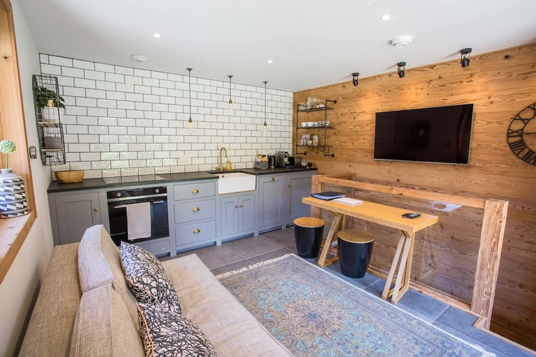 Living room / Kitchen at Studio Grace