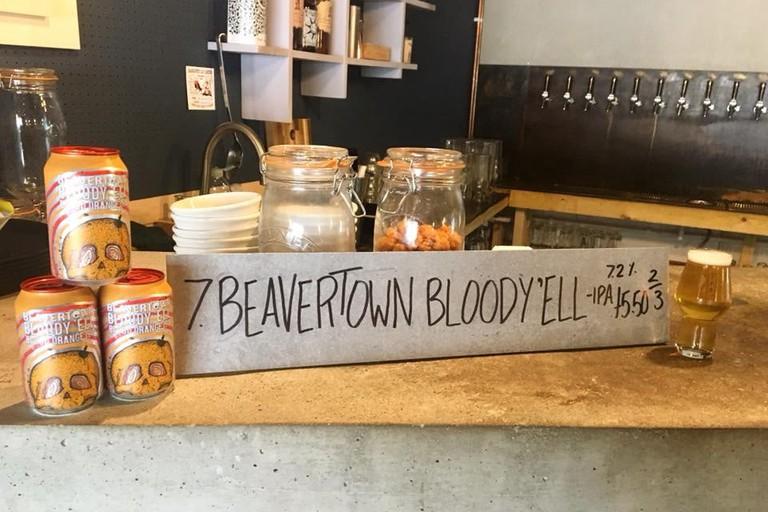 Beavertown beer |