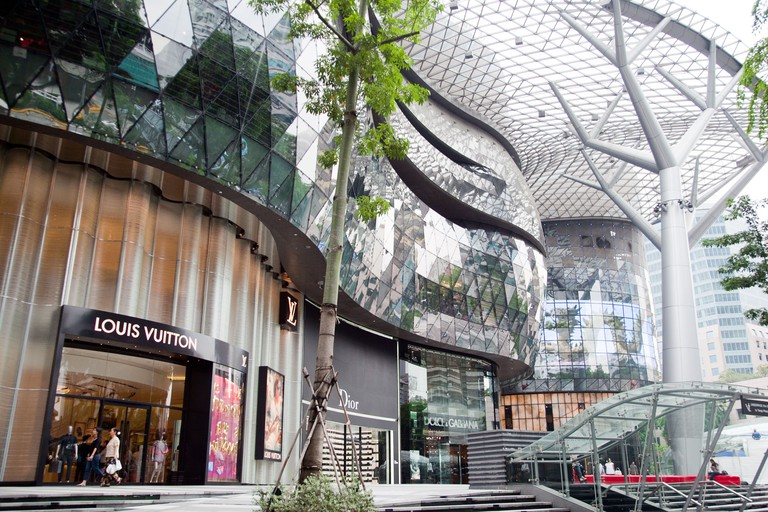 Orchard Road shopping Center in Singapore