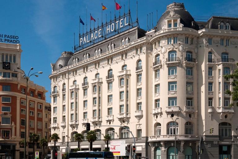 Westin Palace Hotel (1912), Madrid, Spain