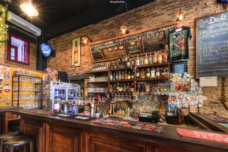 BrewFellas bar cyprus