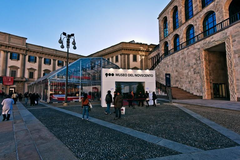 Museum of the Twentieth Century, Palazzo dell'Aregario, restored in 2009 by Italo Rota e Fabio Fornasari Architect, Milan, Italy
