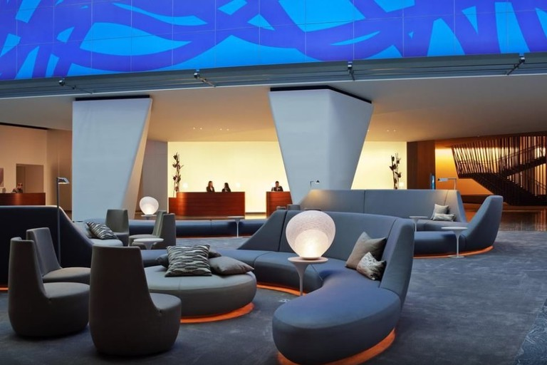 The art installation at the Conrad New York makes it one of the best hotels in Tribeca.
