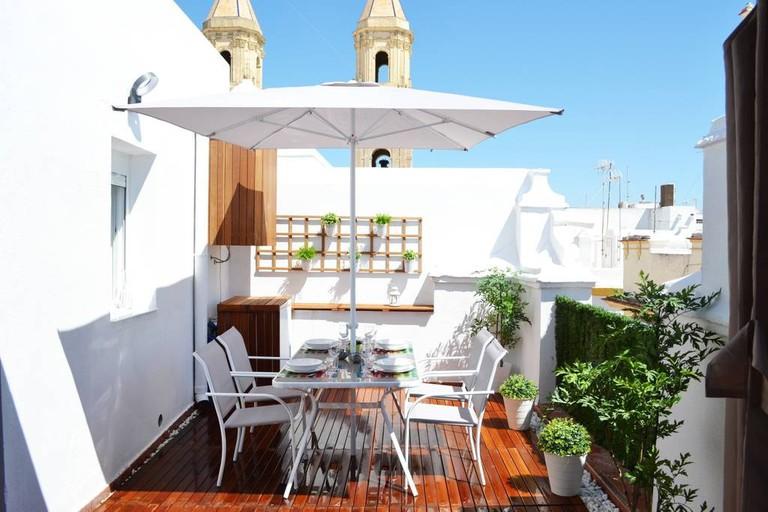 Espectacular Atico con Terraza en Centro de Cadiz