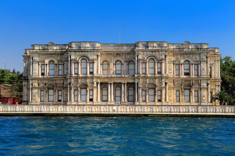 Beylerbeyi Palace or Beylerbeyi Sarayi (1861), Bosphorus, Istanbul, Turkey