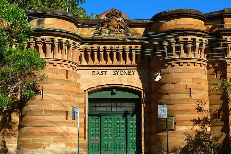 Entry to Darlinghurst Gaol © Sardaka / Wikimedia Commons