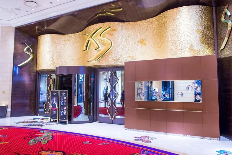 The XS Night club in Encore hotel in Las Vegas