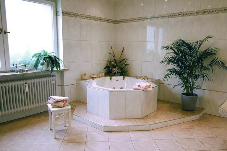 Jacuzzi at the luxury Villa