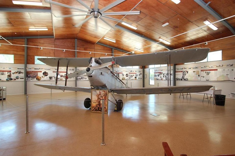 Fenton Plane inside Katherine Museum