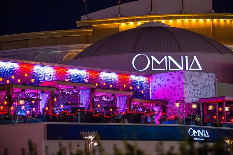The Omnia Night club in Ceasars palace hotel in Las Vegas