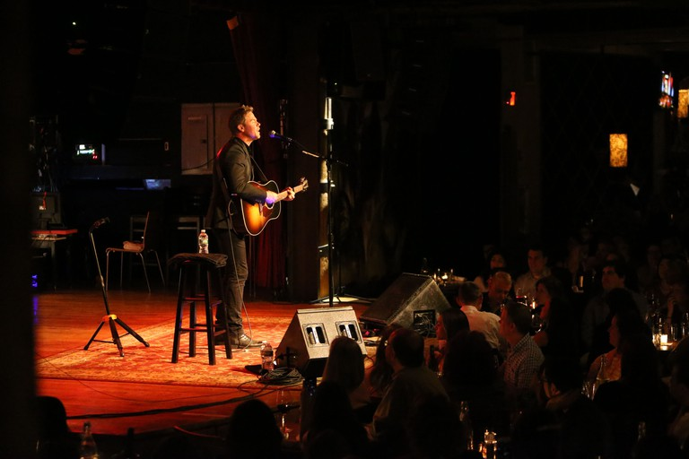 Josh Ritter is seen here performing at City Winery
