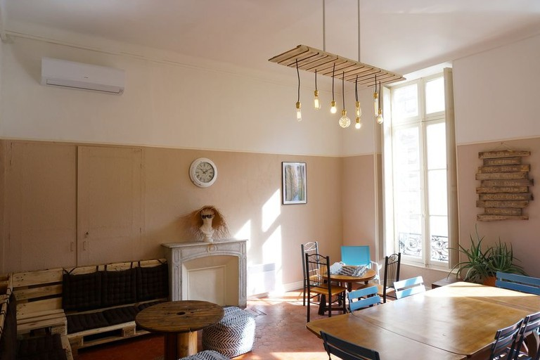 Socialising is the aim of the game at La Maïoun Guesthouse Hostel