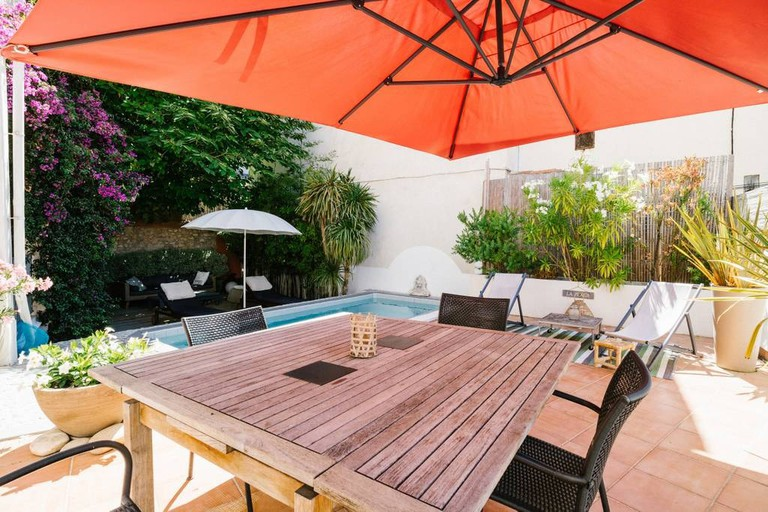 The apartment in Malmousque is one of the few Airbnbs to have a pool on the coast |© Airbnb