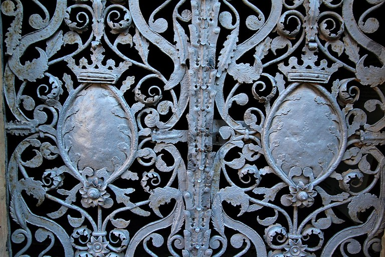 wrought iron metal work