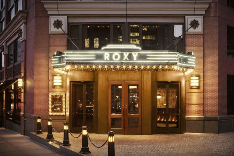 The Roxy Hotel is one of the best hotels in Tribeca, New York