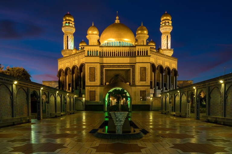 most beautiful mosques in Brunei